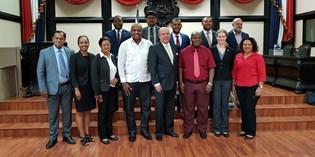 """Vicevoorzitter Bouva: """"Natuur nieuw pad voor ontwikkeling van Suriname"""""""